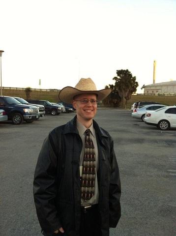 Neil's Cowboy Hat