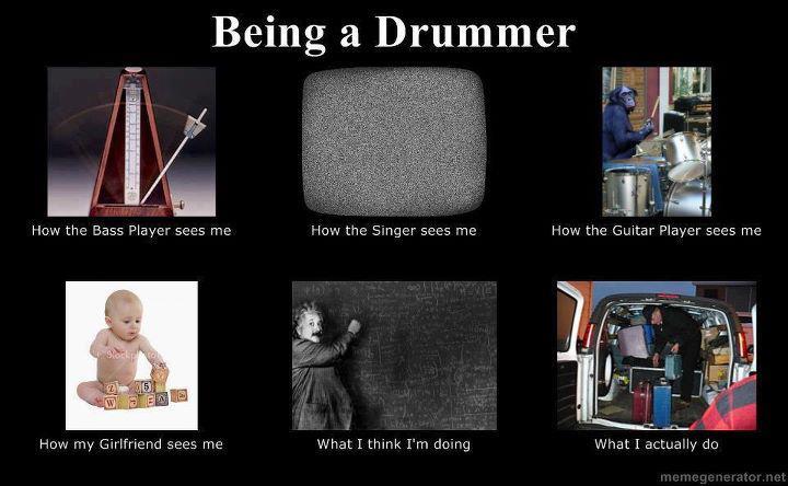 Being a Drummer