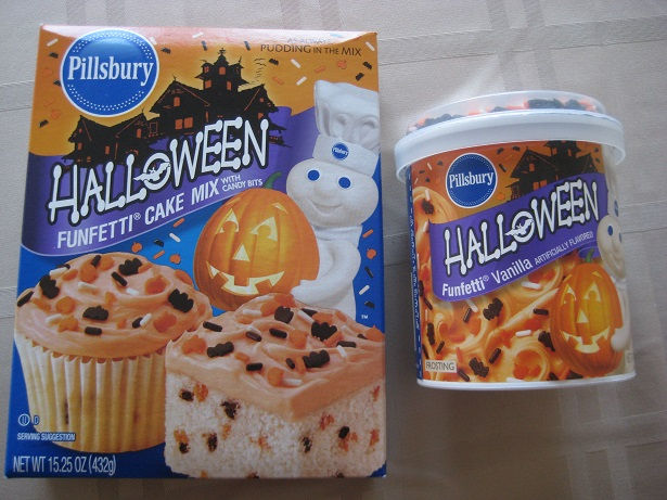 halloween cake frosting mix
