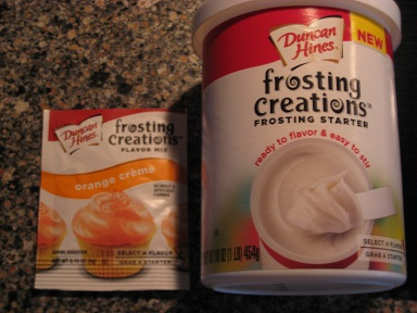 duncan hines frosting mix instructions