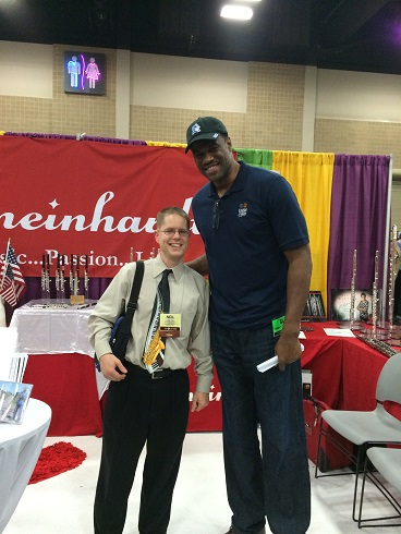 David Robinson at the 2015 convention