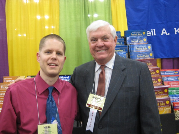 Me with Dr. Bruce Pearson at the 2015 convention